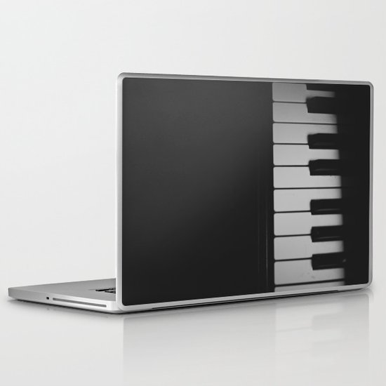 Piano Keys II ANALOG ZINE Laptop & iPad Skin