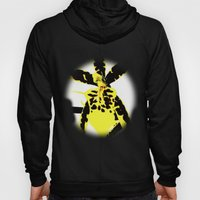 yellow orchid Hoody