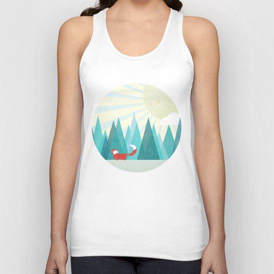 Winter's Over Unisex Tank Top