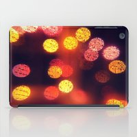 Orange Lights iPad Case
