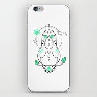 Morning Hen iPhone & iPod Skin