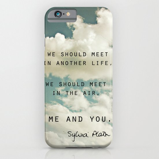 Sylvia: Air iPhone & iPod Case