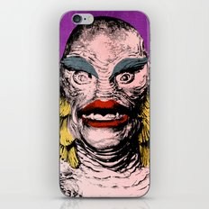 The Gorgeous Gill Man Fr… iPhone & iPod Skin