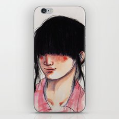 Girl with the Fringe iPhone & iPod Skin
