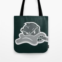 Smoking Duck Transparent Tote Bag
