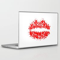 lips Laptop & iPad Skins featuring LIPS by christoph robausch