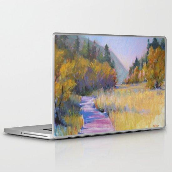 Crossing Shadows Laptop & iPad Skin
