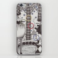 Winter Circus iPhone & iPod Skin