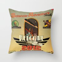 Welcome in 2012 Throw Pillow