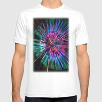 Night Light 144 - Wheel Mens Fitted Tee White SMALL