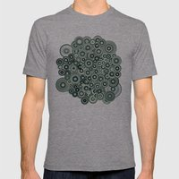 Mandalas Mens Fitted Tee Tri-Grey SMALL