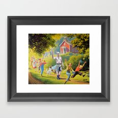 School's Out! Framed Art Print