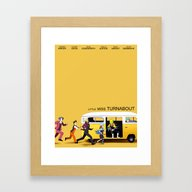 A Courtroom On The Verge… Framed Art Print