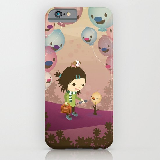 Balloon Tree Song iPhone & iPod Case