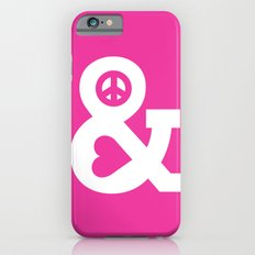 Peace and Love (pink edition) iPhone 6 Slim Case