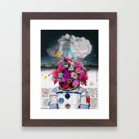 Censored Serenity Framed Art Print
