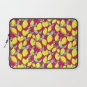 Lemon and pink Laptop Sleeve