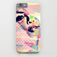 iPhone & iPod Case featuring Abstract girl by Floridana Oana