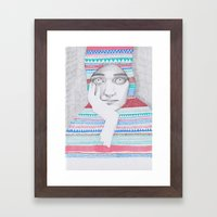 A Traveler 02 Framed Art Print