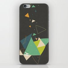 Exploding Triangles//Six iPhone & iPod Skin