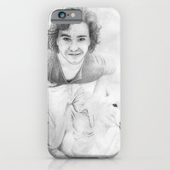 JON AND GHOST iPhone & iPod Case