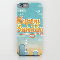 Happy Sunday iPhone 6 Slim Case