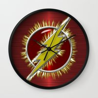Electrified Flash Wall Clock