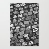 Steps And Stones Canvas Print