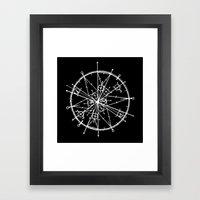 Tribute to Pi Framed Art Print