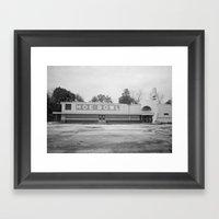 Hoe Bowl Framed Art Print
