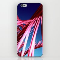 red palm leaf VII iPhone & iPod Skin