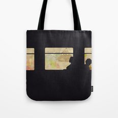 Travelling without moving Tote Bag