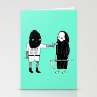 Rob Death Stationery Cards