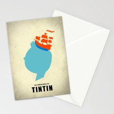 THE ADVENTURES OF TINTIN Stationery Cards