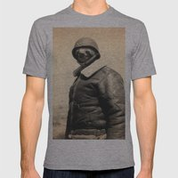 General Sloth Mens Fitted Tee Athletic Grey SMALL