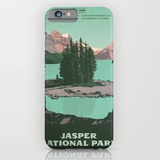 Jasper National Park Poster iPhone 6 Slim Case