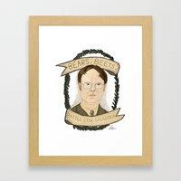 Dwight Schrute Framed Art Print