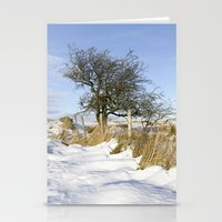 Peak District Winter Stationery Cards