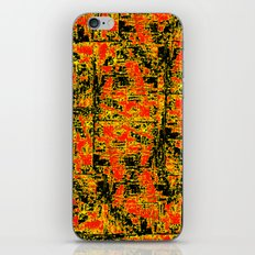 Golden Red  iPhone & iPod Skin