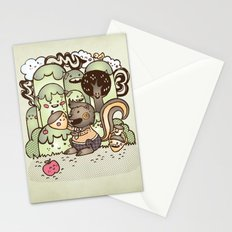 Happy Squirrel Stationery Cards