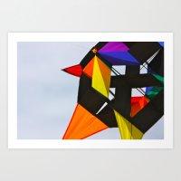 Kite Life 1 Art Print