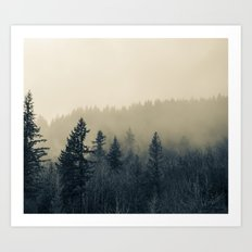Mists of Noon Art Print