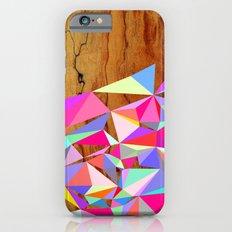 Wooden Multi Geo iPhone 6 Slim Case