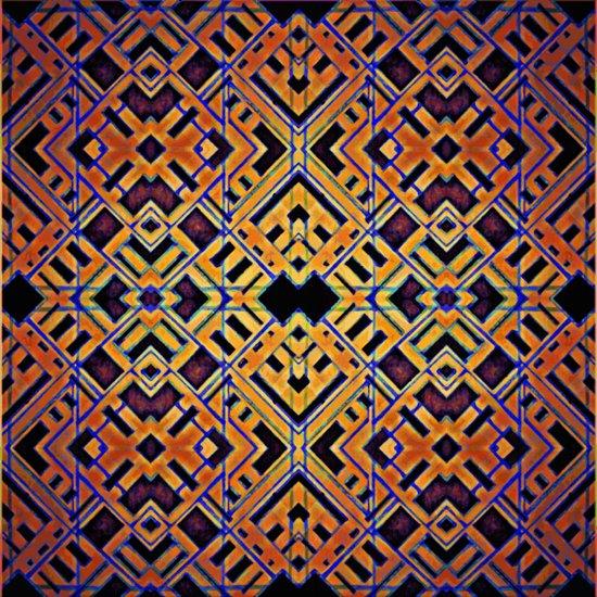 Latticework V2 Art Print