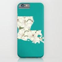 Louisiana In Flowers iPhone 6 Slim Case