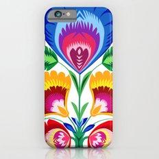 folk flower Slim Case iPhone 6s