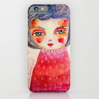 iPhone & iPod Case featuring Strawberry girl by Atelier Susana Tavares