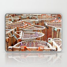 Traditional Lobster Traps Laptop & iPad Skin