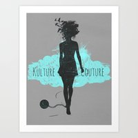 Kulture Couture Art Print