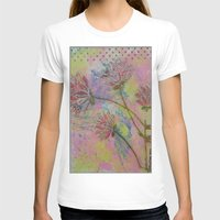 Spring Into Life Womens Fitted Tee White SMALL